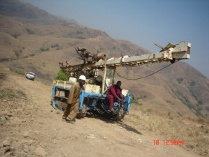 MOBILE DRILL RIG
